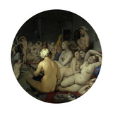 The Turkish Bath Giclee Print by Jean Auguste Dominique Ingres