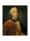 Georges Louis Leclerc, Count of Buffon, Intendant of the King's Gardens Giclee Print by Francois Hubert Drouais
