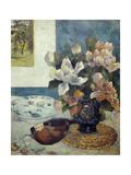 Still Life with Mandolin. 1885 Giclee Print by Paul Gauguin