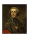 Etienne Charles De Lomenie De Brienne. Head of Council of Finances, 1770 Giclee Print by Jean Baptiste Despax