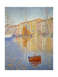 The Red Buoy, 1895 Giclee Print by Paul Signac