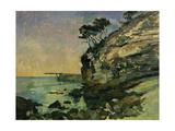 L'Estaque, at Dusk Giclee Print by Paul Cezanne