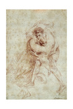 The Kiss, Ca. 1700-21 Giclee Print by Jean Antoine Watteau
