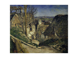The Hanged Man's House, Auvers-Sur-Oise, 1873 Giclee Print by Paul Cezanne