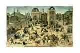 Massacre of Saint Bartholomew's Day, Aug. 24, 1572 Giclee Print by Francois Dubois