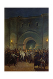 Liberation of Political Prisoners from the Mazas Prison Giclee Print by Jules Didier