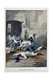 Spanish Deserters Shot in Russian Campaign, 'Captain Coignet's Books' Giclee Print by Julien Le Blant