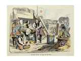 Injured Turenne During the Siege of Saverne in 1636 Giclee Print by Paul Dufresne