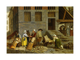 A Tannery in Paris, 1790 Giclee Print by Leonard Defrance
