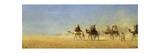 Caravan Crossing the Desert Giclee Print by Charles Theodore Frere