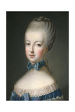 Marie Antoinette Queen of France, 1770 Giclee Print by Jean Baptiste Charpentier