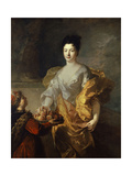 Duchess De La Force, 1714 Giclee Print by Francois de Troy