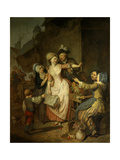 The Seduction, 1778 Giclee Print by Pierre Alexandre Wille
