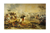 Battle of the Pyramids, July 21St, 1798 Giclée-Druck von Carle Vernet