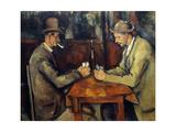 The Cardplayers, 1890-95 Giclee Print by Paul Cezanne