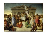 Apotheosis of Homer Giclee Print by Jean Auguste Dominique Ingres