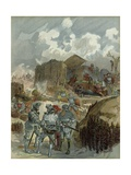 Bayard During the Siege of Mezieres, in 1521 Giclee Print by Albert Robida