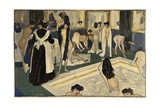Womens Bath in Paris, Ca. 1905 Giclee Print by Albert Weisgerber