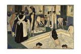 Womens Bath in Paris, Ca. 1905 Giclee Print by Albert Weisgerber