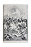 Fight During the Battle of Marengo, 'Captain Coignet's Books' Giclee Print by Julien Le Blant