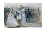 Reception During the Reign of Louis-Philippe, 1830-48 Giclee Print by Eugene Louis Lami