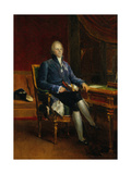 Portrait of Charles Maurice De Talleyrand Perigord, Prince of Benevent, 1808 Giclee Print by Francois Gerard
