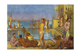 The Captives Reproduction procédé giclée par Maurice Denis