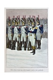 Imperial Guard at Battle of Austerlitz, 'Captain Coignet's Books' Giclee Print by Julien Le Blant