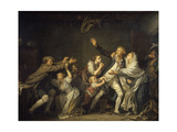 The Father's Curse or the Ungrateful Son, 1777 Giclee Print by Jean Baptiste Greuze