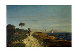 Surroundings of Marseilles, 1866 Giclee Print by Paul Camille Guigou