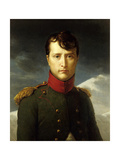 Portrait of Bonaparte as First Consul. 1803 Giclee Print by Francois Gerard