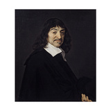 Portrait of Rene Descartes Philosopher. Ca. 1640 Giclee Print by Frans Hals