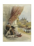 Last Days of Francis I of France Giclee Print by Albert Robida