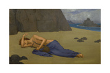 Lamentation of Orpheus, Ca. 1875-1917 Giclee Print by Alexandre Seon