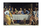 The Last Supper, 1648 Giclee Print by Philippe De Champaigne