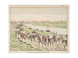 Henry IV Marches on Paris Giclee Print by Jacques de Breville