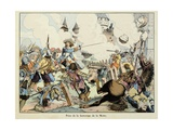 Turenne Taking of the Fortress of La Motte in 1634 Giclee Print by Paul Dufresne