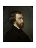 Alfred De Musset, Poet. Posthumous Portrait by Charles Landelle, 1877. Giclee Print by Charles Landelle