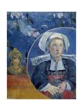 The Beautiful Angele, 1889 Giclee Print by Paul Gauguin