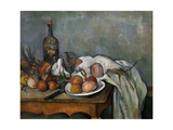 Still Life with Onions. 1896-98 Giclee Print by Paul Cezanne
