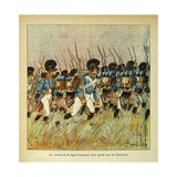 Napoleonic Wars, Bavarian Army Integrated into the Army of Napoleon Giclee Print by Louis Bombled
