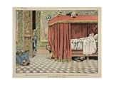 Henry IV Lives in Paris under the Supervision of Spies Giclee Print by Jacques de Breville