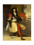 Louis XIV French, King of France and Navarre. Ca. 1670 Giclee Print by Claude Lefebvre