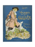 Cover Book of 'Voyages De Gulliver' (Gulliver's Travels) Giclee Print by Albert Robida