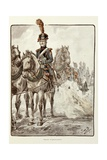 The Artillery Tross, from Book, 'The Old Guard' Reproduction procédé giclée par Jacques de Breville