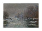 The Break Up Near Vetheuil, Ca. 1880 Giclee Print by Claude Monet