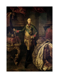 Czar Peter III, 1762 Giclee Print by Alexei Petrovich Antropov