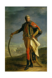 Jean Lannes, Marshal of France, Duke of Montebello, in Hussars Colonel Uniform, 1804-1809 Giclee Print by Jean Charles Nicaise Perrin