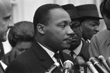 Only Two Weeks Since Jfk's Assassination, Martin Luther King, Met with President Lyndon Johnson Photo