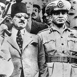Muhammad Naguib with Egyptian Premier Ali Maher, Who Was Appointed by King Farouk, in 1952 Photo